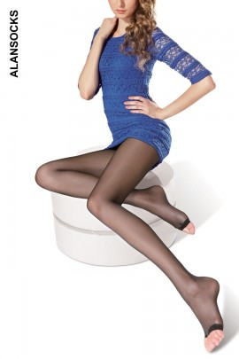 A7003- Classic peep toe tights