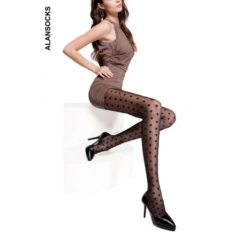A1203- Fashion tights with patterns 30 den
