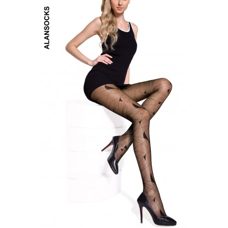 M0255- Fashion tights with designs 20D