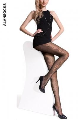 M0257- Collant moda con fantasie 20D