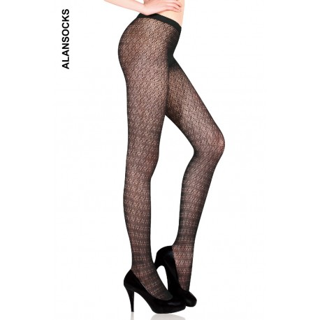 YD0935- Fishnet tights with patterns