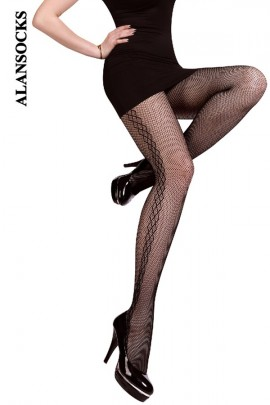 SP009- Fishnet tights with patterns