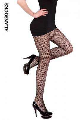 SP013- Fishnet tights with patterns