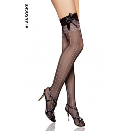 2093- Fashion stockings with stripes