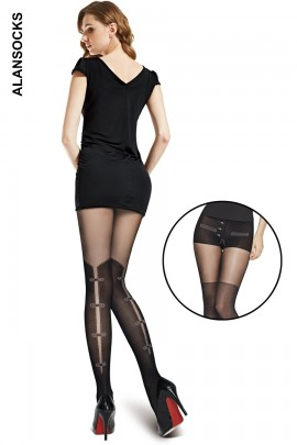 A6271- Fashion tights with patterns 60 den