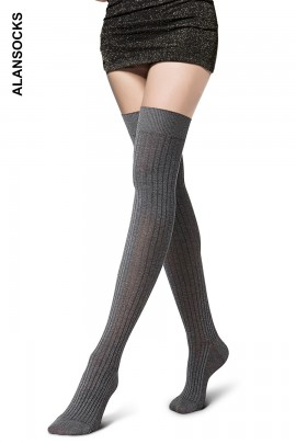D5833- Parisian cotton socks above the knee