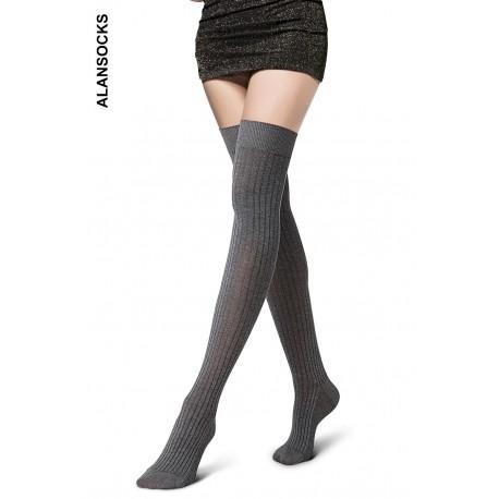 D5833- Parisian cotton socks above the knee