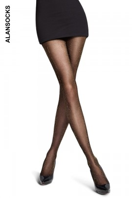 M8833- Fashion tights with glitter 20 den