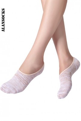 H113- Sport Footsies socks in coton with silicone