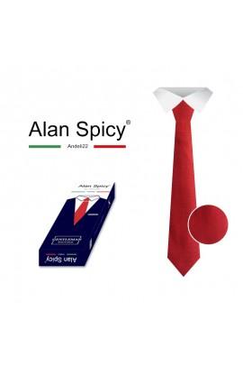 YL1901- ALAN SPICY - Classic Men's tie with a Solid Color (12 Pieces)