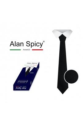 YL1903- ALAN SPICY - Cravate unie classique pour hommes (12 pièces)