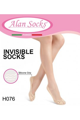 H076- Footsavers anti-slip in lace