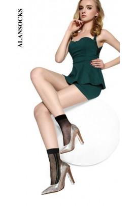 HD222- Short socks with designs