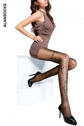 A6064- Fashion tights with patterns 20D