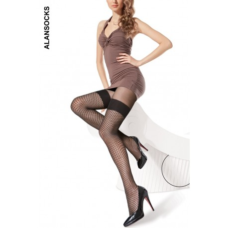A6186- Fashion tights with patterns 20 den