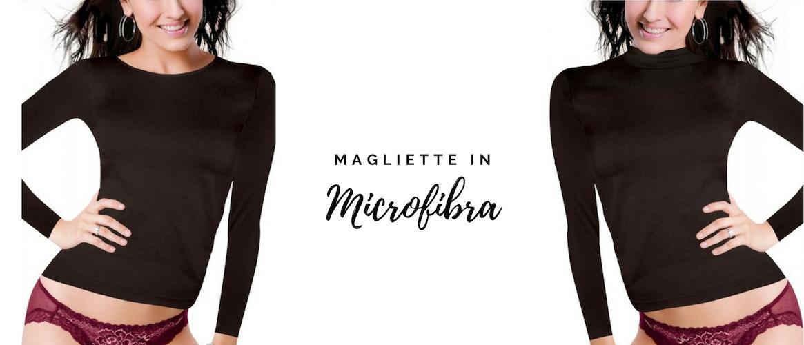 maglietta microfibra